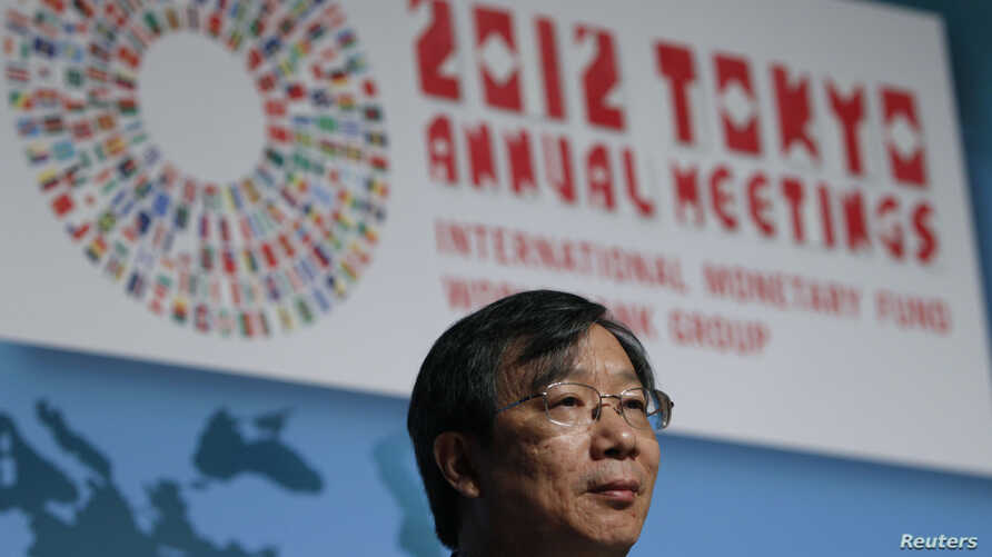 People's Bank of China Deputy Governor Yi Gang is seen at the IMF/World Bank Group meeting in Tokyo October 14, 2012.