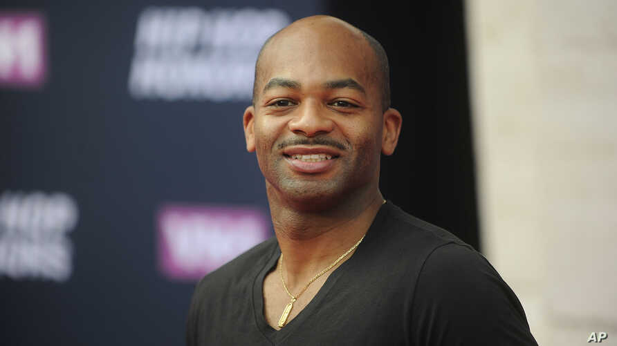 FILE - Brandon Victor Dixon attends the arrivals at VH1's Hip Hop Honors at David Geffen Hall at Lincoln Center .