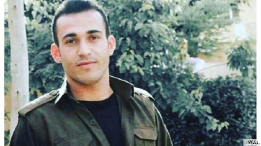 Undated photo of Iranian Kurdish dissident Ramin Hossein Panahi, who was sentenced to death in Iran in January 2018 on charges of taking up arms against the state.