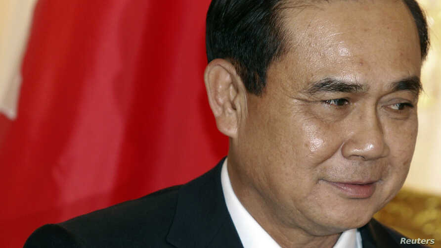 Thailand's Prime Minister Prayuth Chan-ocha at the Government House in Bangkok, Oct. 20, 2014.