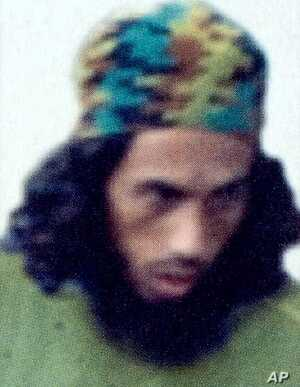 This undated handout picture released on May 31, 2006 by the US Department of State's rewards for Justice program shows wanted Indonesian terror suspect Umar Patek.
