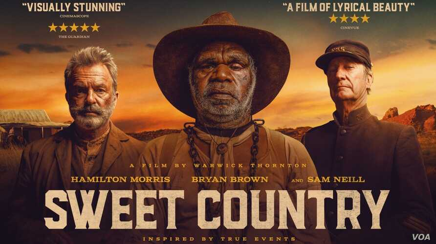 """Sweet Country"" movie banner"
