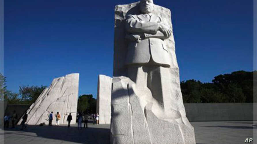 Martin Luther King, Jr. National Memorial, Washington, D.C., Aug. 2011 (file photo).