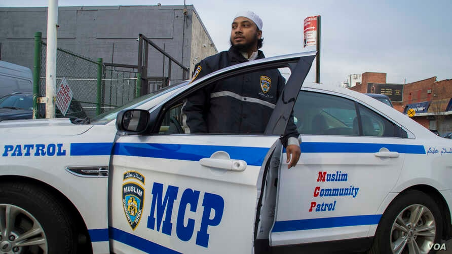 """Nazrul Islam, imam of Muslim Community Patrol & Services (MCPS), says Brooklynites have demonstrated their support for the patrol. """"They see us and they know who we are,"""" Islam said."""
