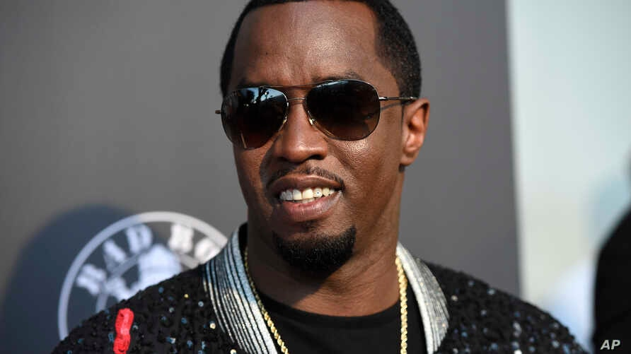 "FILE - Sean ""Diddy"" Combs arrives at the Los Angeles premiere of ""Can't Stop, Won't Stop: A Bad Boy Story"" at the Writers Guild Theater."