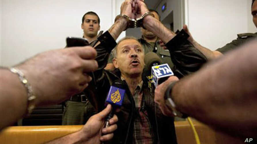 Amir Makhoul in an Israeli courtroom (file photo)