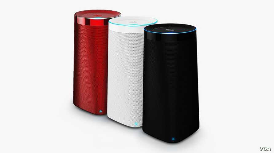 The Chinese LingLong DingDong device is similar to Amazon's Echo. (Beijing LingLong)