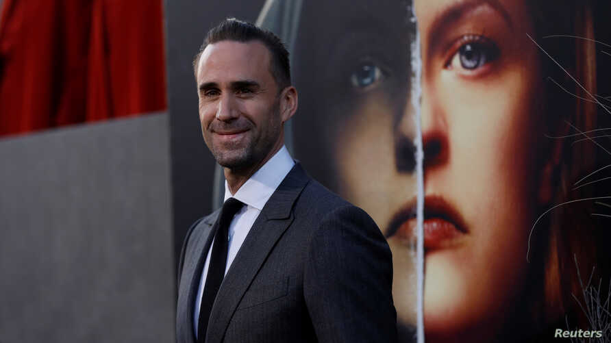 Cast member Joseph Fiennes poses at the premiere for the second season of the television series 'The Handmaid's Tale' in Los Angeles, California, U.S., April 19, 2018.