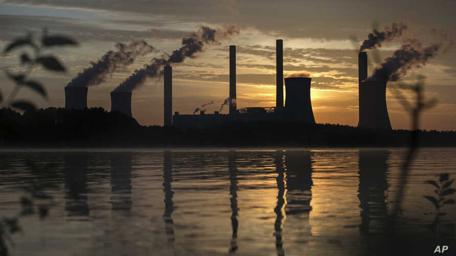 The coal-fired Plant Scherer, one of the nation's top carbon dioxide emitters, in Juliette, Ga., June, 3, 2017.