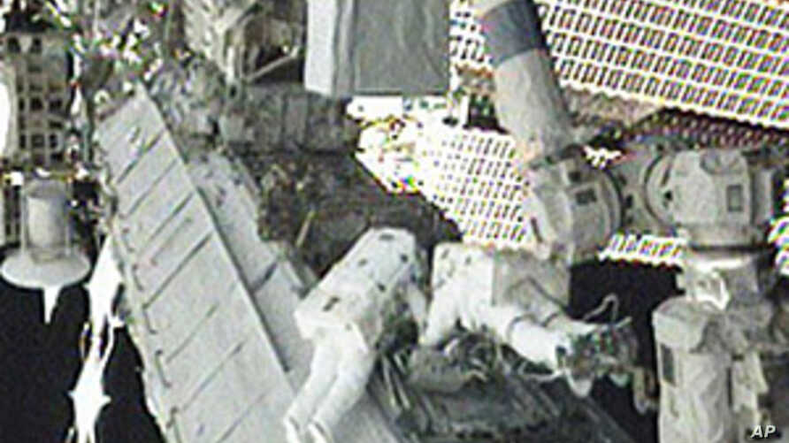 Astronauts Install New Cooling Pump on Space Station