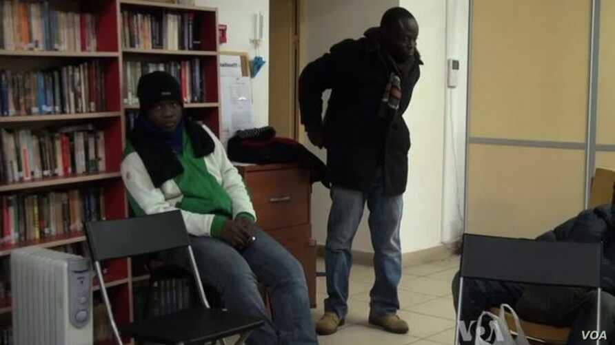 Africans in Moscow Struggle with Snow and Harrasment