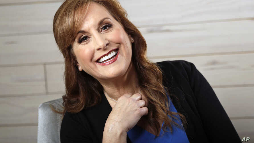 "FILE - Jodi Benson, the voice of Ariel from the Disney animated film, ""The Little Mermaid,"" poses in Nashville, Tenn., Feb. 19, 2019."