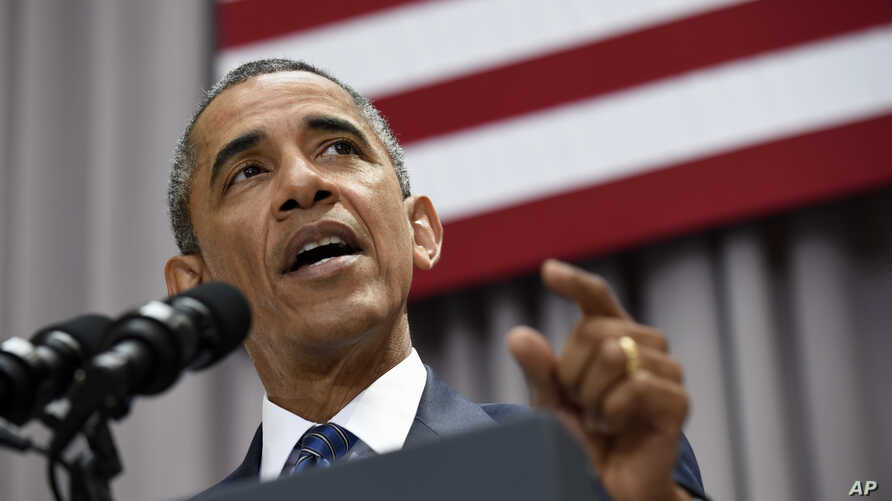 President Barack Obama speaks about the nuclear deal with Iran, Aug. 5, 2015, at American University in Washington.