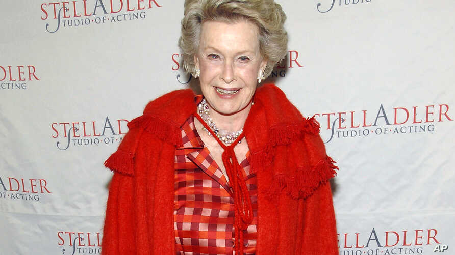 FILE - In this March 17, 2008, file photo, actress Dina Merrill attends the 4th Annual Stella by Starlight benefit in New York. Merrill died this week at age 93.
