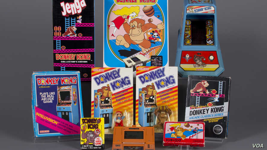 Iconic 1980s video game Donkey Kong has been inducted into the video game hall of fame. (The Strong)