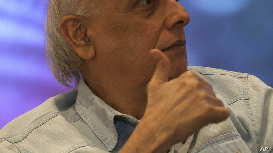 FILE - Indian Bollywood director Mahesh Bhatt is pictured at a promotional event for one of his films in New Delhi, June 10, 2015.