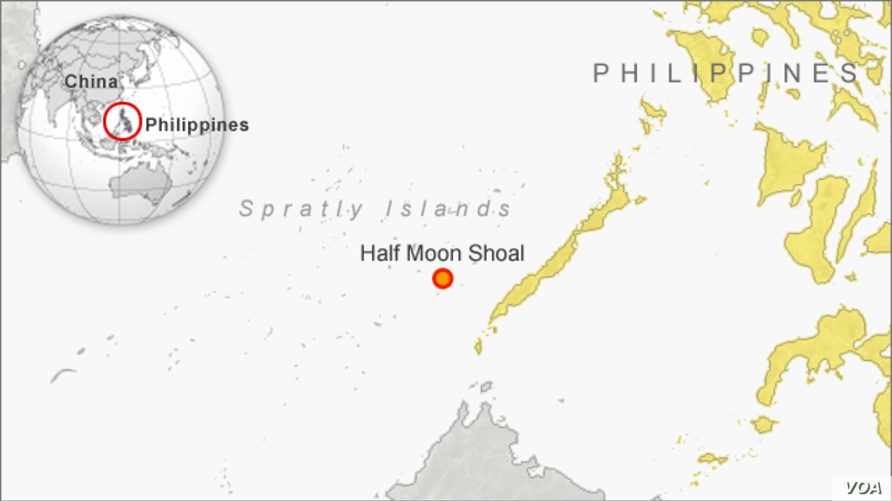Half Moon Shoal, Spratley Islands