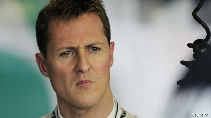 Mercedes Formula One driver Michael Schumacher of Germany is seen during the first practice session of the Australian F1 Grand Prix at the Albert Park circuit in Melbourne, Australia, March 25, 2011.