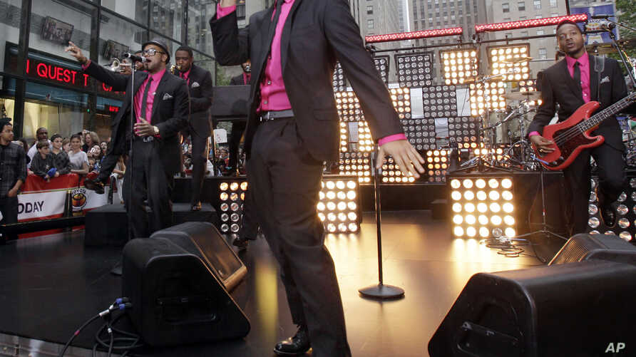 """Bruno Mars performs on the NBC """"Today"""" television program in New York, June 24, 2011."""