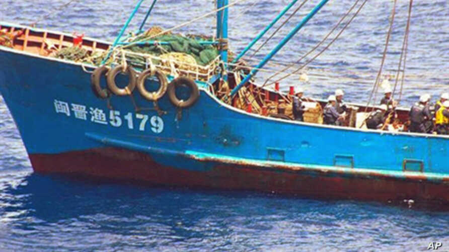 A handout picture released from Japan Coast Guard, 08 Sep 2010, shows a Chinese fishing boat, which was seized by Japan Coast Guard's patrol boat near a disputed island a day before