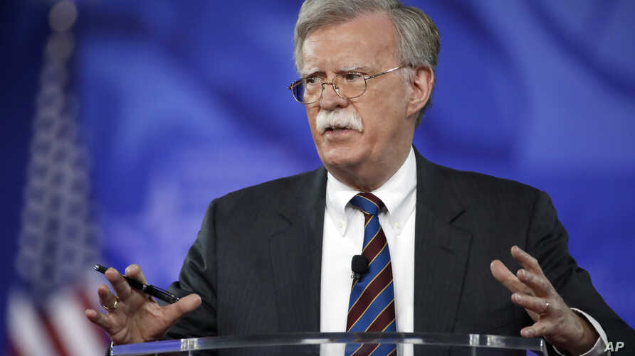Former U.S. Ambassador to the UN John Bolton speaks at the Conservative Political Action Conference, Feb. 24, 2017, in Oxon Hill, Maryland.