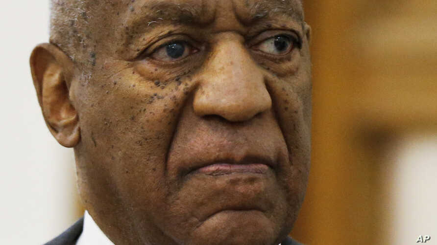 Bill Cosby is pictured leaving the Montgomery County Courthouse in Norristown, Pa., after a preliminary hearing in a sexual assault case, May 24, 2016.