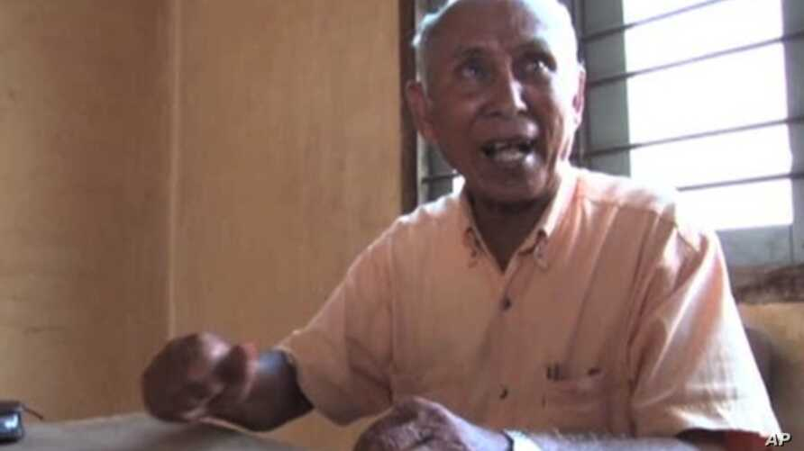 Chhum Mey is one the three living survivors of the Tuol Sleng or S-21, the infamous prison and torture center during the Khmer Rouge rule in Cambodia.