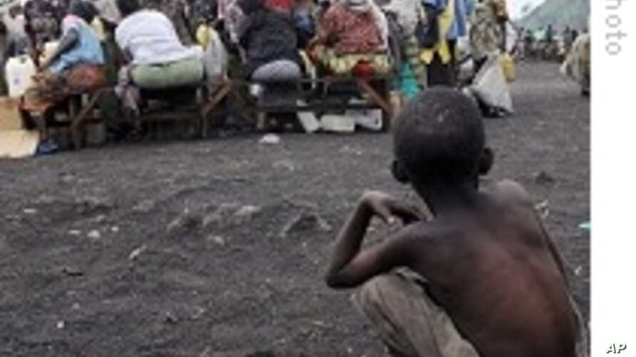 Some displaced Congolese are displeased with MONUC.