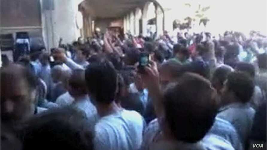 Related video of Iranian protesters