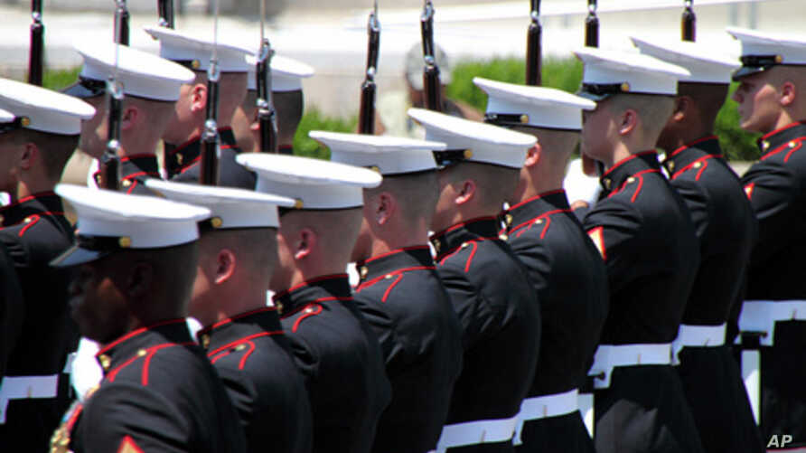 You can be pretty sure that these Marines are legitimate.