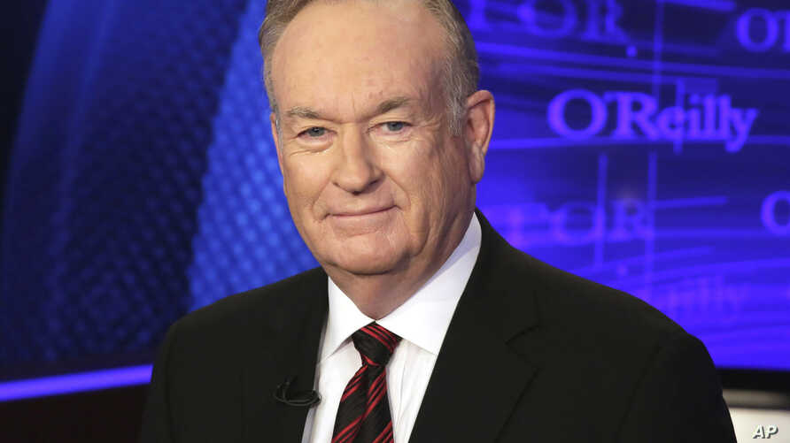 """FILE - Bill O'Reilly of the Fox News Channel program """"The O'Reilly Factor"""" is shown Oct. 1, 2015."""