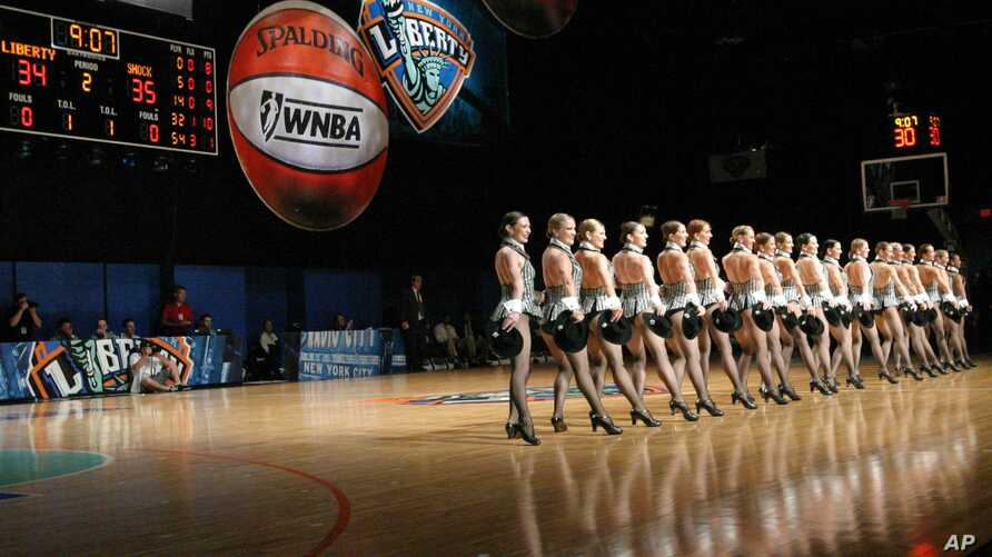 FILE - The Rockettes perform in New York.