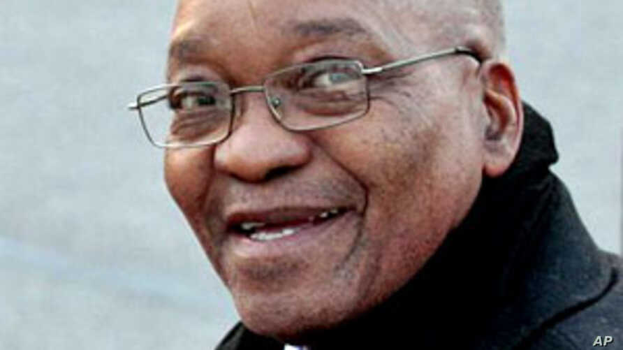 South Africa's President Jacob Zuma (File)