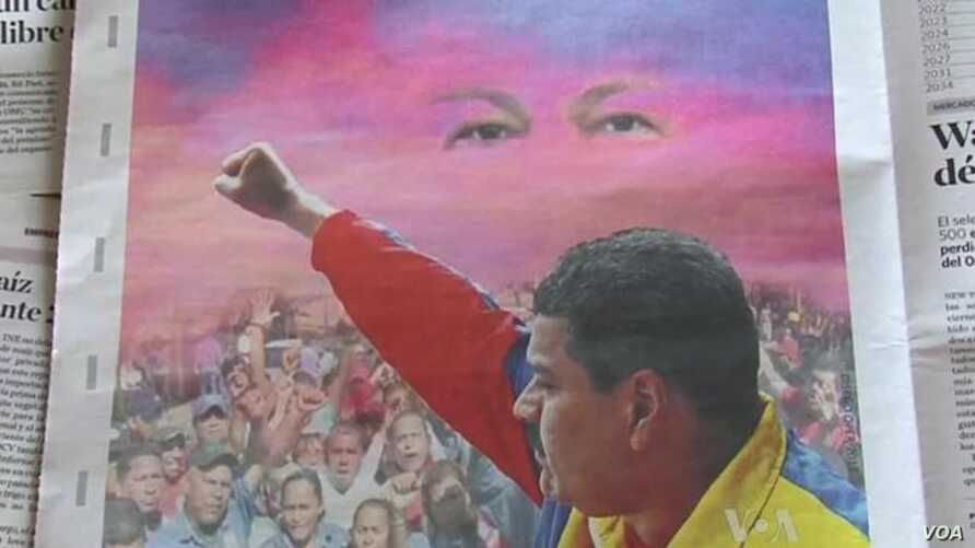 Late President Chavez's Spirit Lives On in Venezuelan Election Campaign