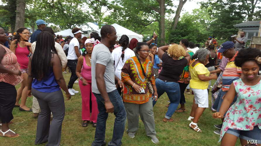 Liberians in Washington Celebrate 168 Independence Day