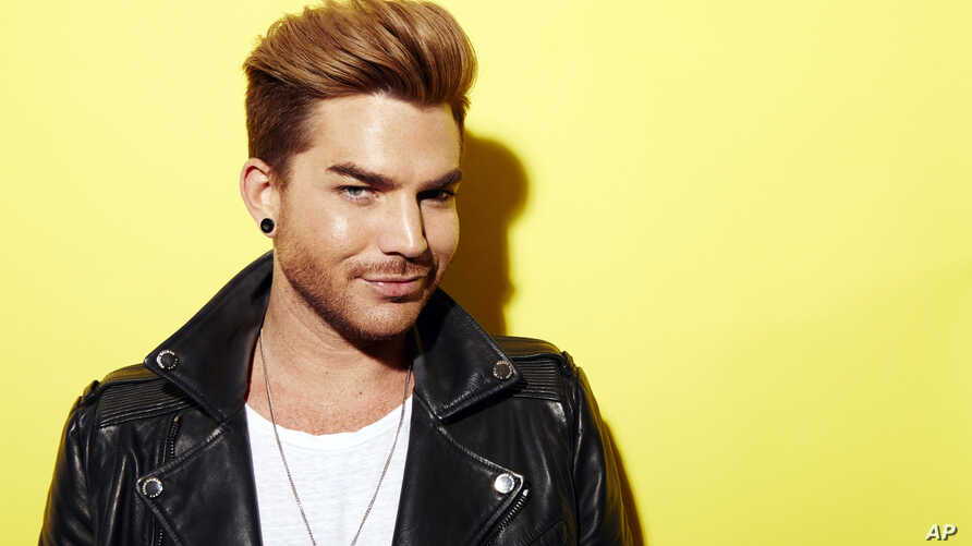 """Singer, songwriter and runner-up finalist on """"American Idol"""" Adam Lambert poses for a portrait in promotion of his upcoming album """"Original High,"""" May 19, 2015, in New York"""