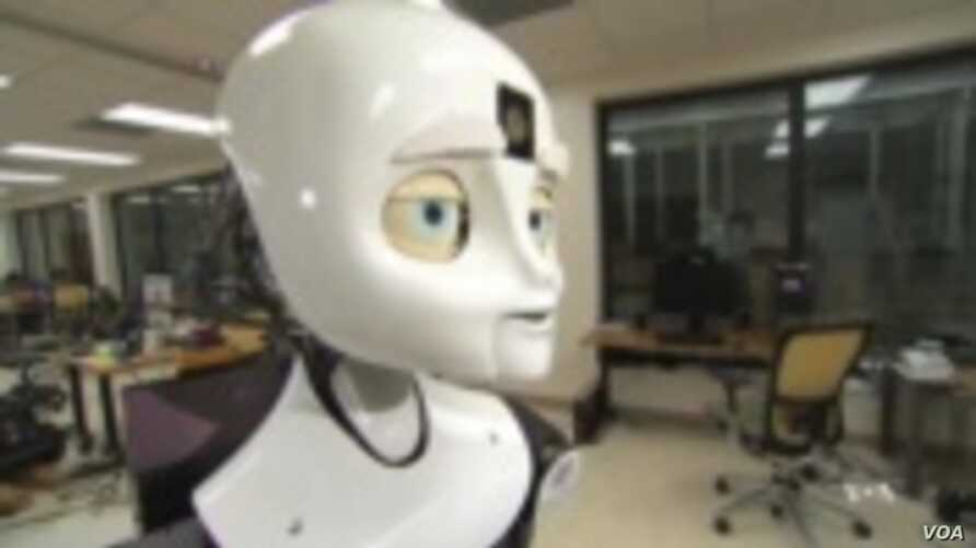 "Scientists say in a few years we will start seeing so-called ""social robots,"" capable of engaging with people. (VOA TV)"