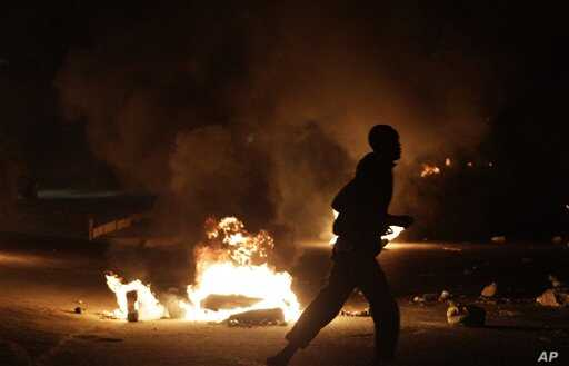 Violent clashes between police and anti-government protesters continued for a fifth consecutive day Sunday, as protests spread from the downtown core to numerous other parts of the capital, Dakar. (file photo).