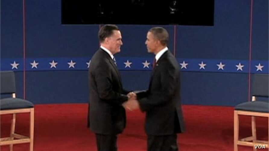 Obama Engages Romney in Spirited Second Debate