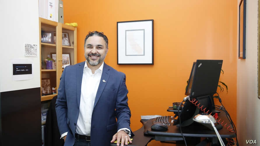 """Jose Quinonez, a 2016 MacArthur Fellow, and his Mission Asset Fund have formalized the """"lending circle"""" practice, tracking borrowing and repayment activity and helping people to build credit histories, Sept. 12, 2016. (Credit: John D. & Catherine T."""