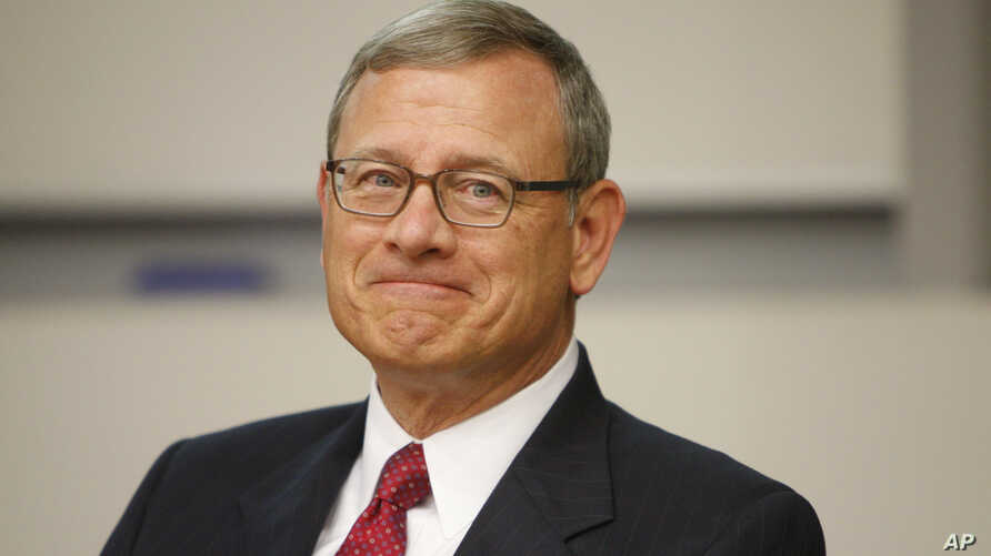 U.S. Supreme Court Chief Justice John Roberts attends an event at the Victoria University of Wellington, July 26, 2017, in Wellington, New Zealand.