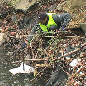 US River Cleanup a Rite of Spring for Eco-Volunteers