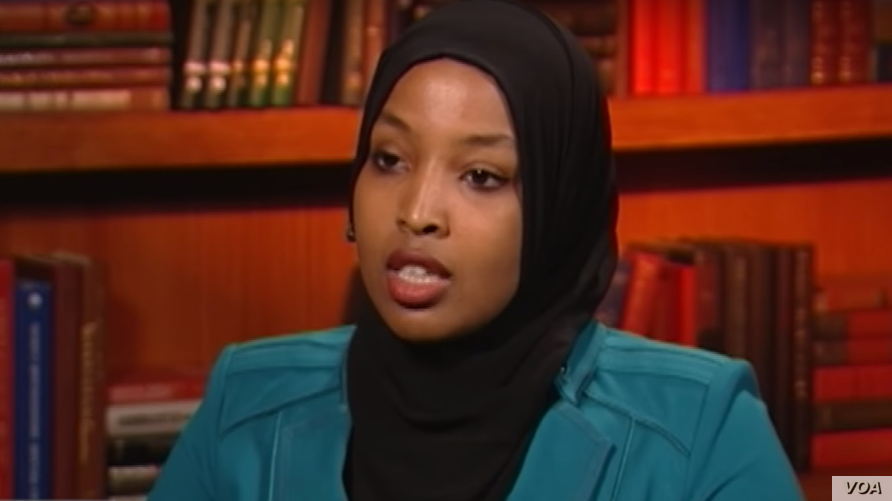 Munira Khalif is seen in a screengrab from video during an interview with VOA's Somali Service.