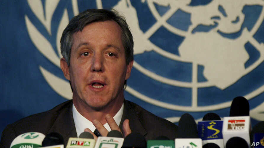 FILE - Anthony Banbury, head of the U.N. mission to combat Ebola, says reaching zero cases is the only acceptable outcome of the effort.