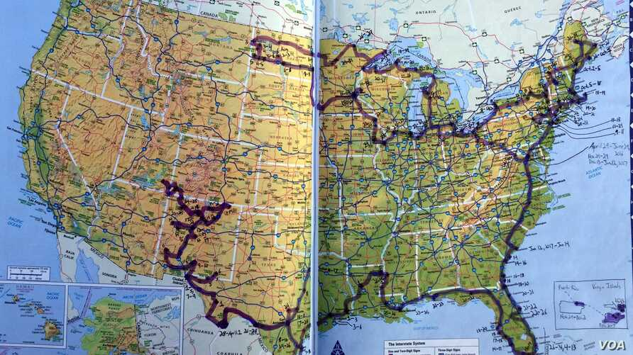 National Parks traveler Mikah Meyer is keeping track of his road trip to the parks, battlefields and historic places in the national park system.