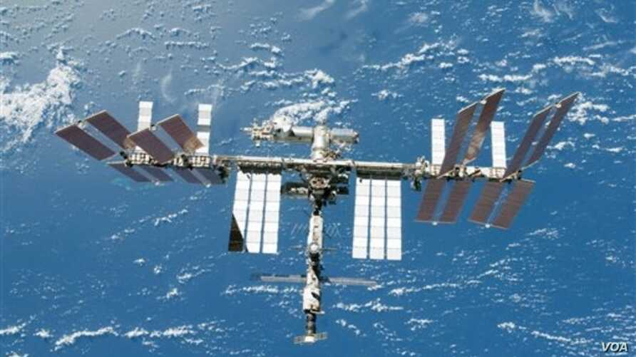 FILE - The International Space Station.