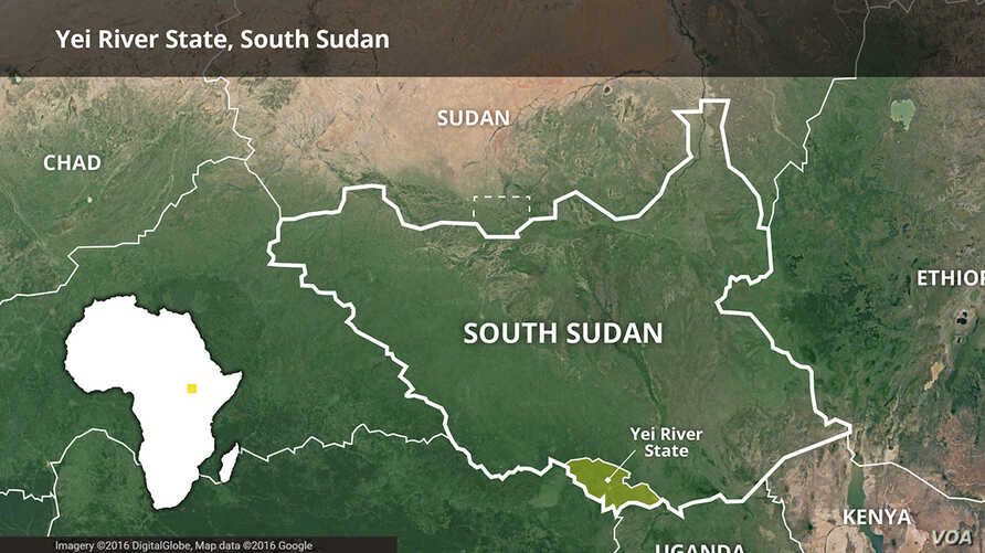 Yei River State, South Sudan