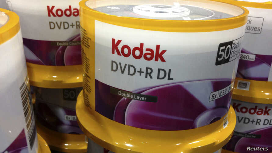 DVD's by Eastman Kodak Co are displayed in a retail store in San Diego, California, April 22, 2013.