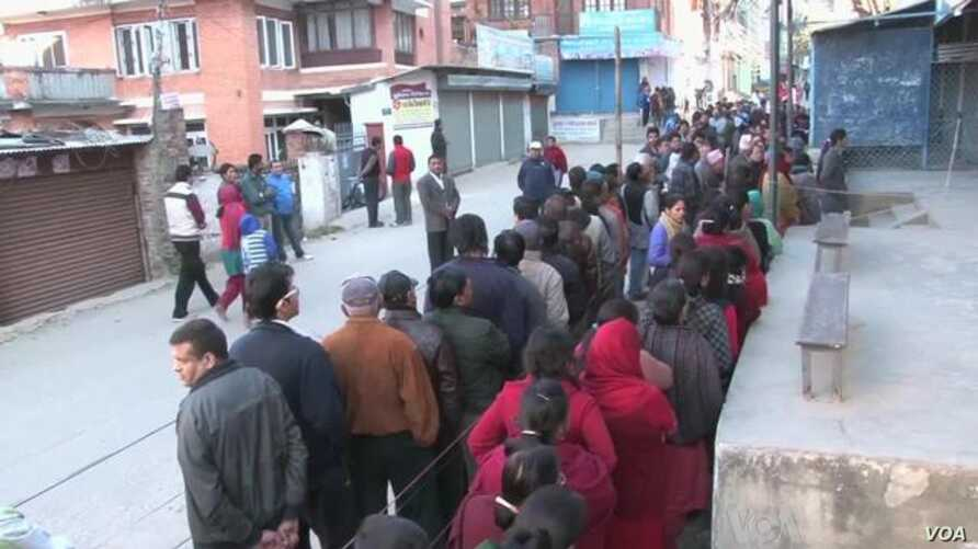 Nepalis Vote to End Political Stalemate