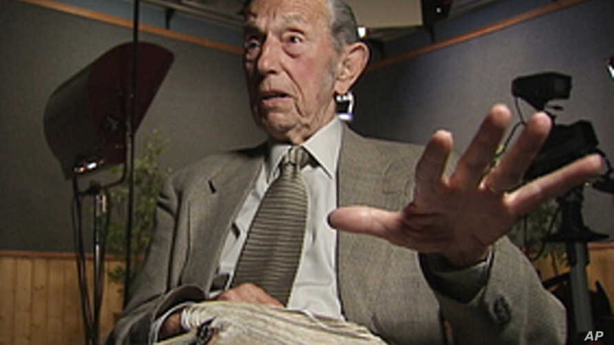 Harold Camping, 89, the California evangelical broadcaster, who predicts that Judgment Day will come on May 21, 2011, is seen in this still image from video during an interview at Family Stations Inc. offices in Oakland, California, May 16, 2011